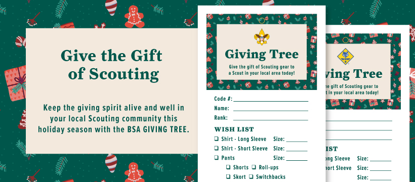 Holiday Giving Tree Facebook Cover