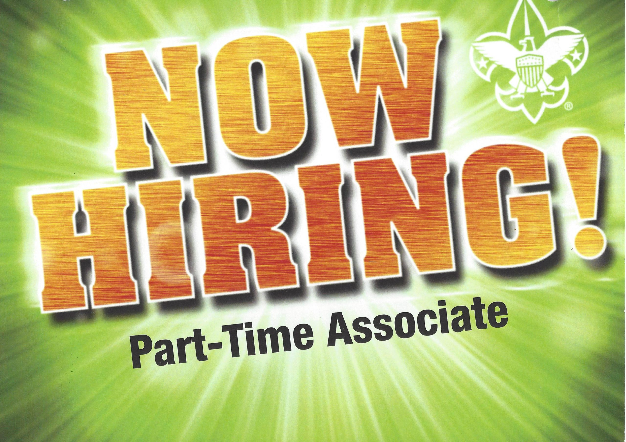 now hiring part time